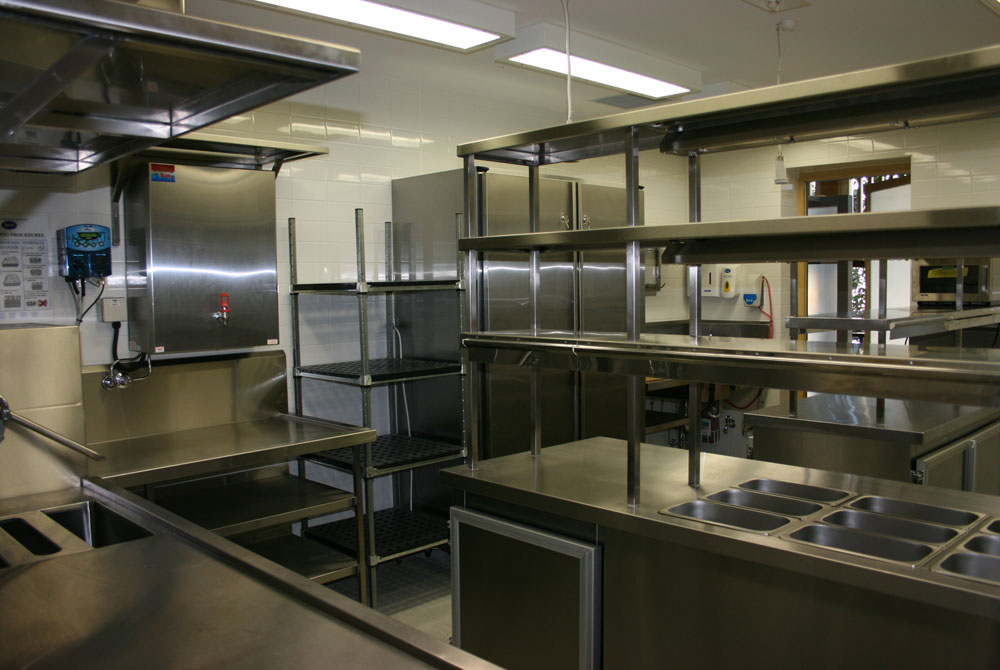 Parliament House Commercial Kitchen