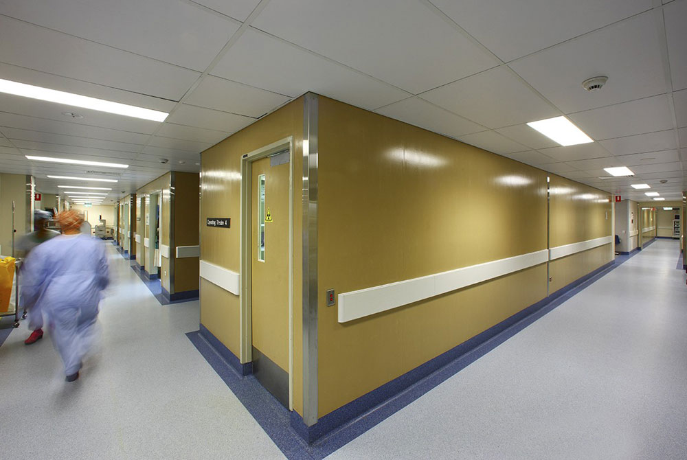 Queen Elizabeth II Hospital Emergency Room