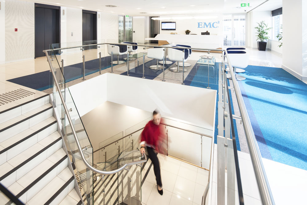 EMC2 Workspace Fitout