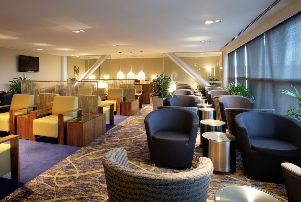 Singapore Airlines VIP Lounge
